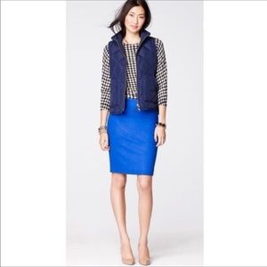 J. Crew wool pencil skirt women's size 4
